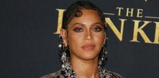 Beyoncé na premiere de Rei Leão em 2019