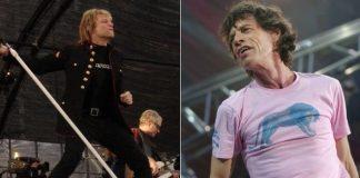 Bon Jovi e Mick Jagger