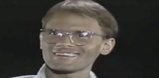 Cazuza no programa de Marília Gabriela em 1988