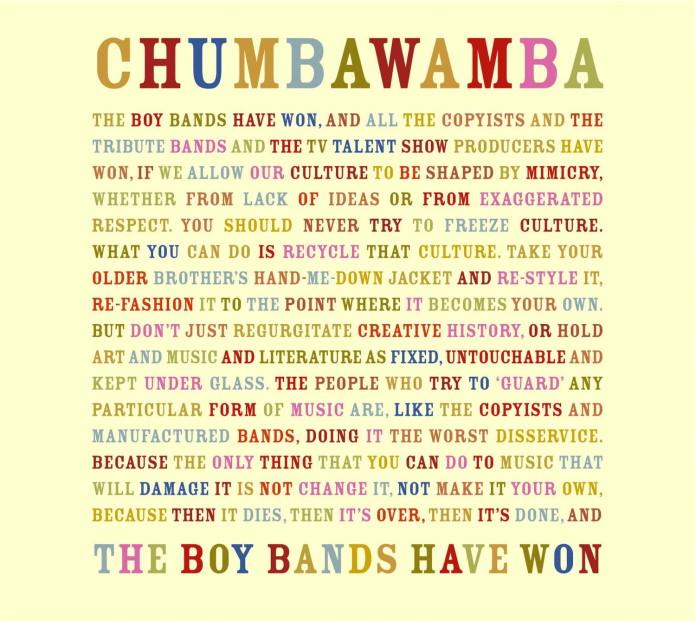 Chumbawamba - The Boy Bands Have Won