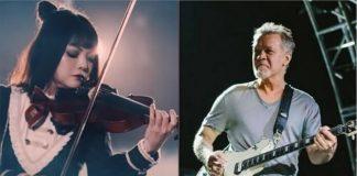 """Violinista japonesa faz cover incrível de """"Eruption"""" de Van Halen"""
