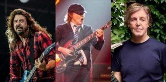 Dave Grohl conta sobre noite marcante em que conheceu o AC/DC graças a Paul McCartney