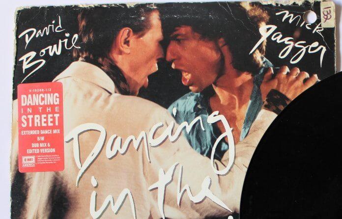 Disco de David Bowie e Mick Jagger