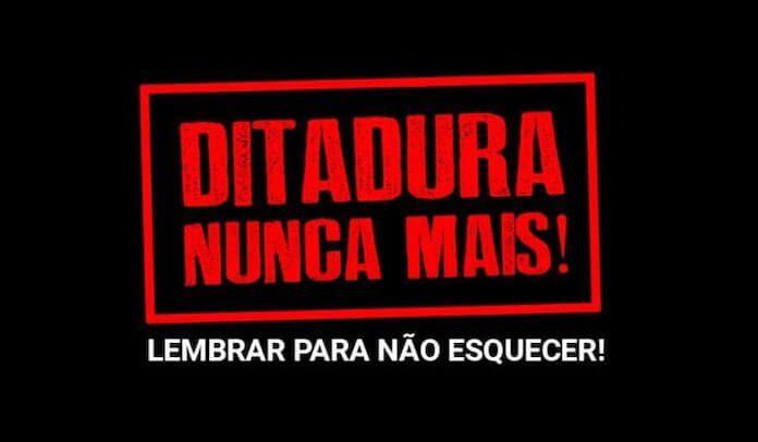 Ditadura Nunca Mais: Supla, Marcelo D2 e mais rejeitam celebração de 31 de  Março