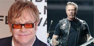 Elton John revela que trabalhou com o Metallica durante a quarentena
