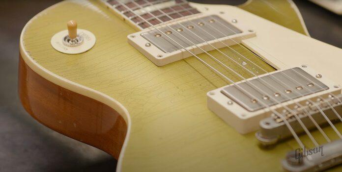 Gibson venderá guitarras envelhecidas artificialmente