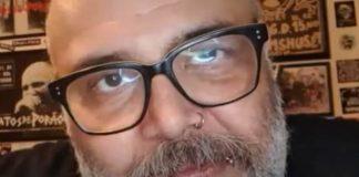 João Gordo em entrevista para o canal Meteoro