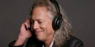 Kirk Hammett avaliando músicas de terror