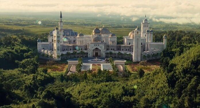 O Palácio de Zamunda de