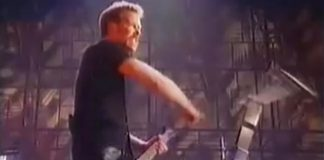 Metallica no MTV Europe Awards 1996