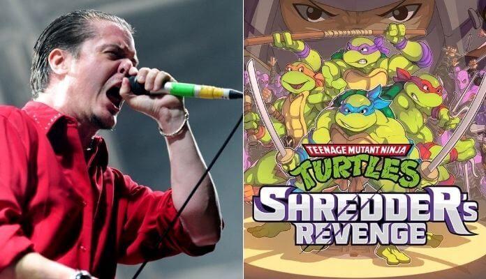 Mike Patton e Tartarugas Ninja