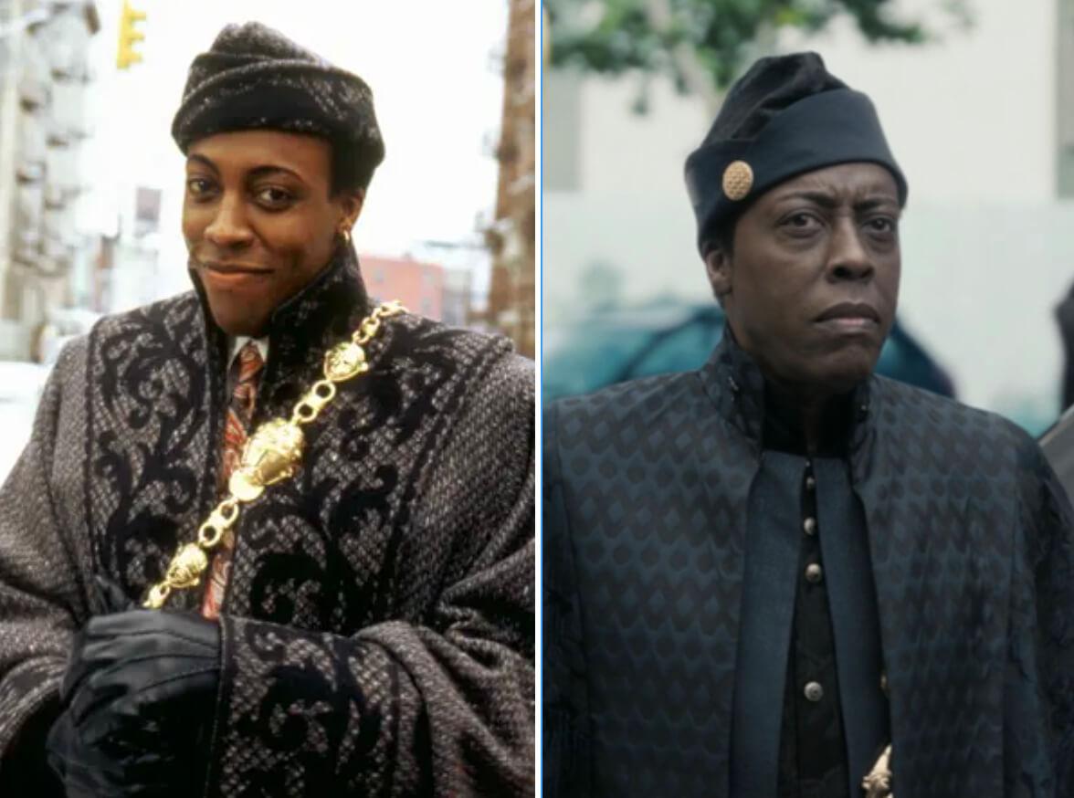 """Comparação de Arsenio Hall em """"Um Príncipe em Nova York"""" 1 e 2"""