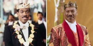 """Comparação de Eddie Murphy em """"Um Príncipe em Nova York"""" 1 e 2"""