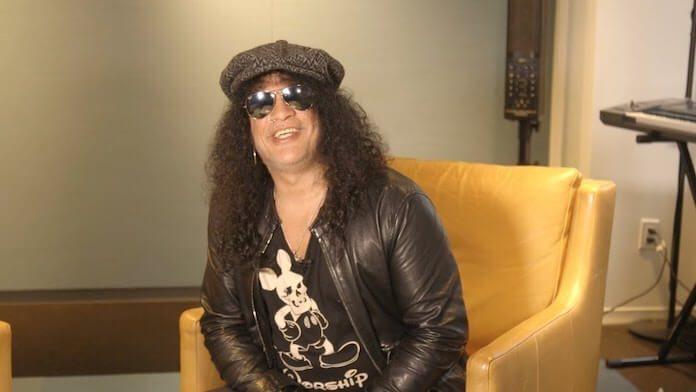 Slash falando do gosto musical dos filhos
