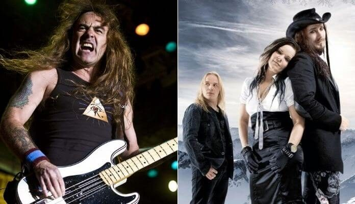 Steve Harris e o Nightwish