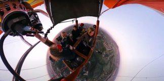 Switchfoot faz live em balão