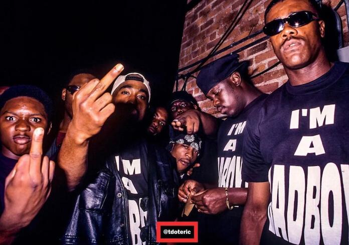 Tupac e Biggie juntos em foto rara