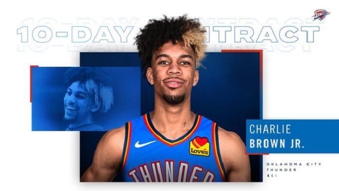 Charlie Brown Jr., mas o jogador de basquete