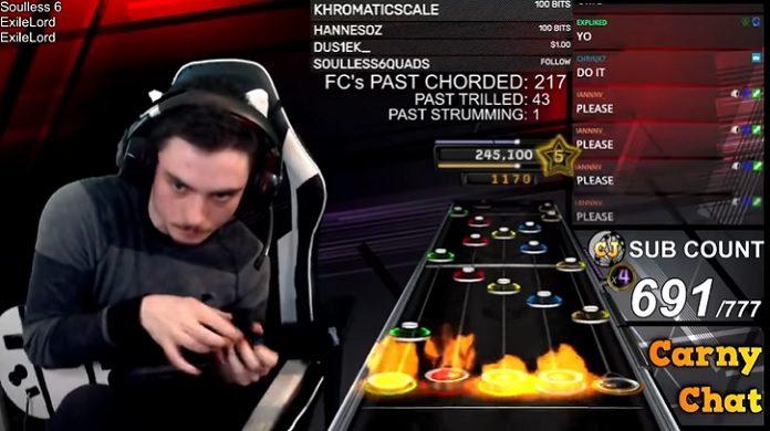 Guitar Hero música impossível