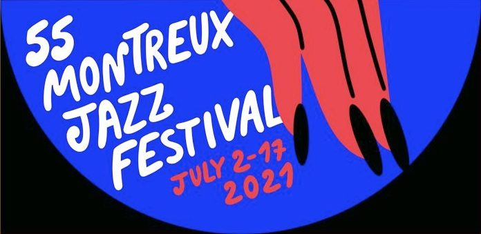 Pôster do Montreux Jazz Festival 2021 por Marylou Faure