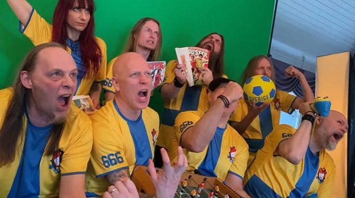 Nu jävlar! Suécia Metal Futebol