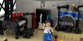 Queen Live Aid LEGO
