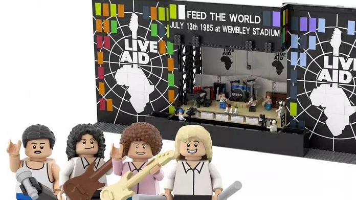 Queen Live Aid LEGO 2