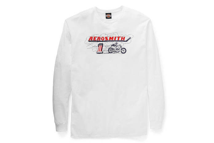 Coleção Aerosmith com Harley-Davidson