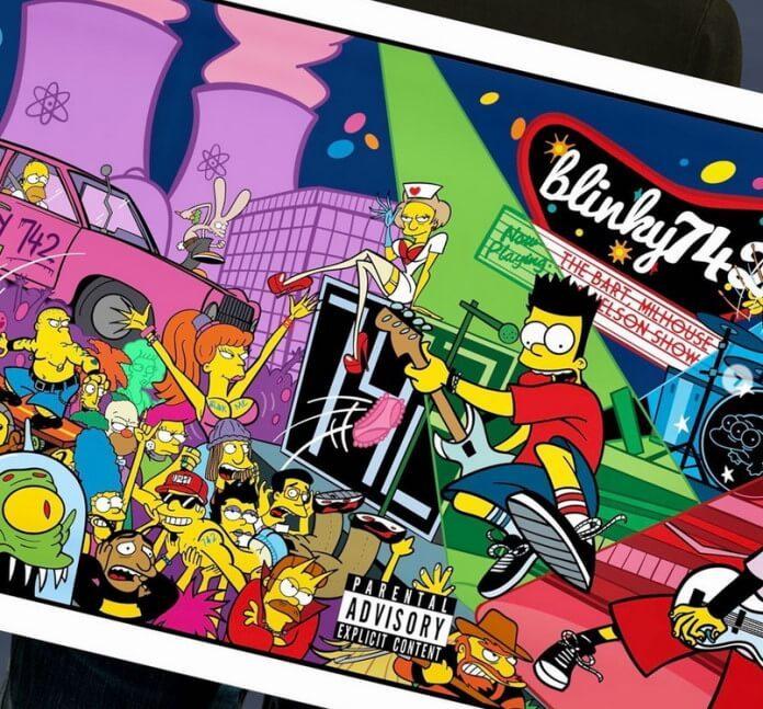blink-182 e Simpsons