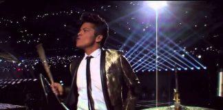 Bruno Mars na bateria