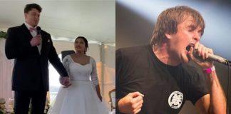 """Casal escolhe a música """"You Suffer"""" do Napalm Death para sua primeira dança de casamento"""