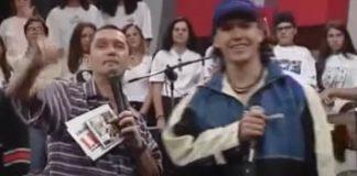 Charlie Brown Jr. no Programa Livre em 1997