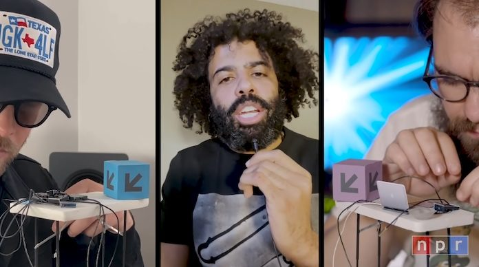 clipping. no Tiny Desk, da NPR
