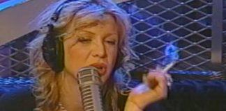 Courtney Love no programa de Howard Stern em 1998