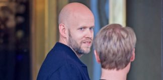 Daniel Ek, CEO do Spotify