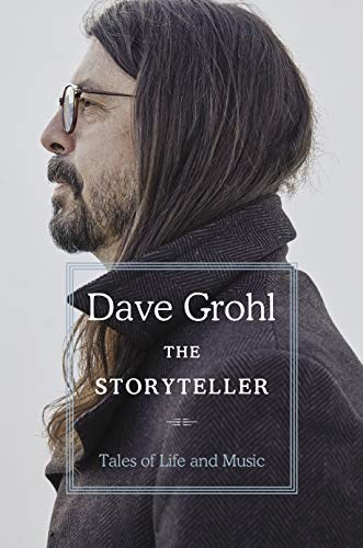 Dave Grohl: The Storyteller - capa do livro