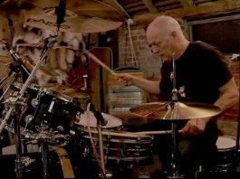 David Gilmour na bateria