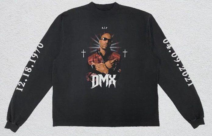 Homenagem a DMX por Kanye West e Balenciaga