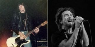 Johnny Ramone e Eddie Vedder