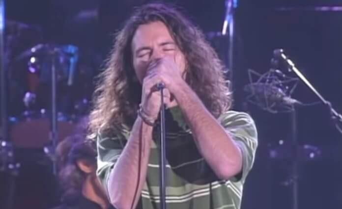 Eddie Vedder com o The Doors
