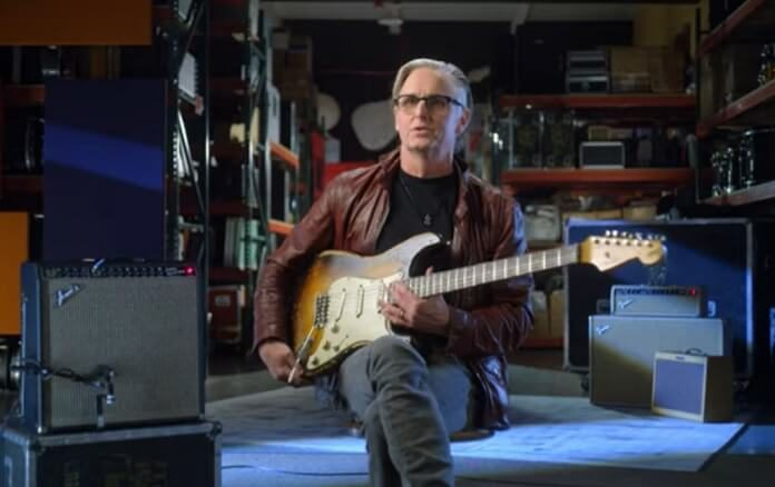 Mike McCready do Pearl Jam se une à Fender para réplica da Stratocaster 1960