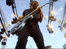 Foo Fighters no Wasting Light On the Harbour