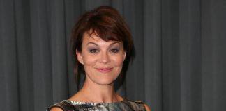 Helen Crory na premiere de Peaky Blinders em 2013