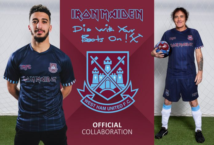 Iron Maiden lança itens esportivos em nova parceria com clube de futebol inglês
