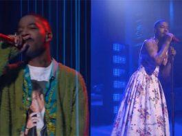 Kid Cudi escolhe roupas semelhantes a de Kurt Cobain para homenageá-lo no Saturday Night Live
