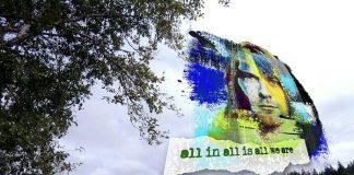 Mural de Kurt Cobain em Aberdeen