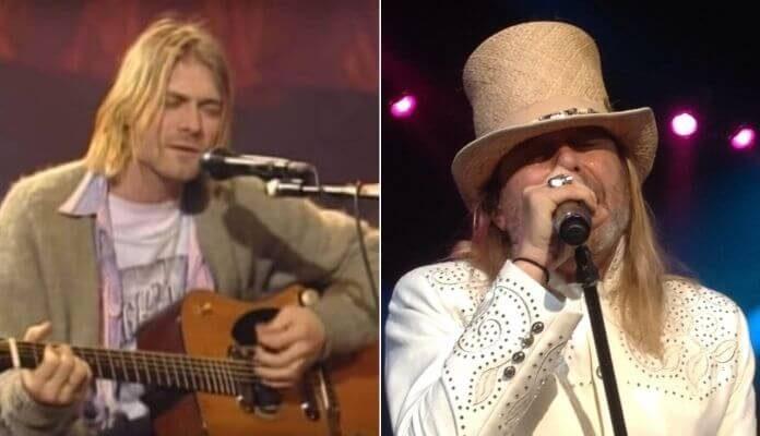 Kurt Cobain e Robin Zander