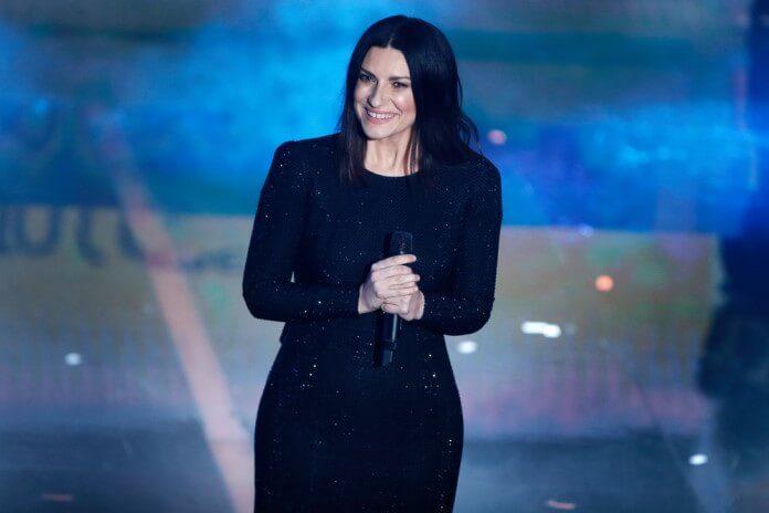 Laura Pausini em Sanremo, 2018