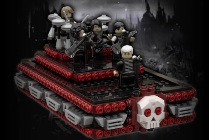 My Chemical Romance apoia LEGO inspirado em