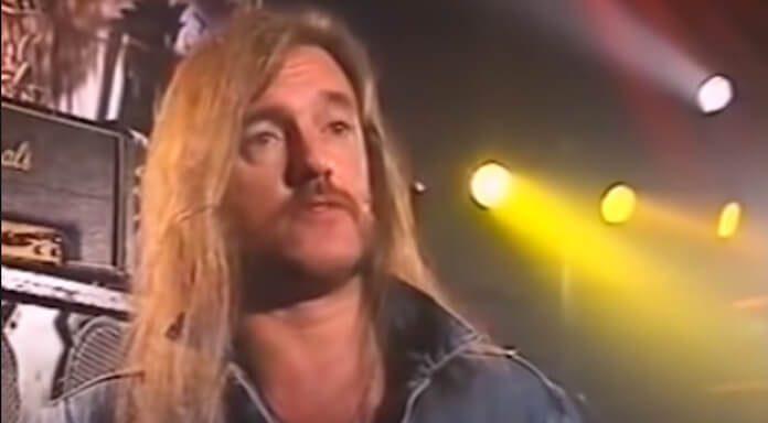 Lemmy Kilmister falando sobre Rock e dinheiro em 1991